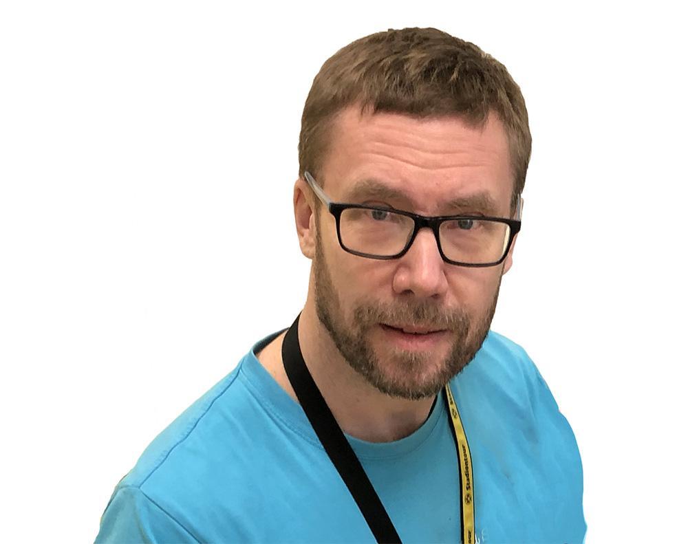 Petri Aarnio henkilökuva.