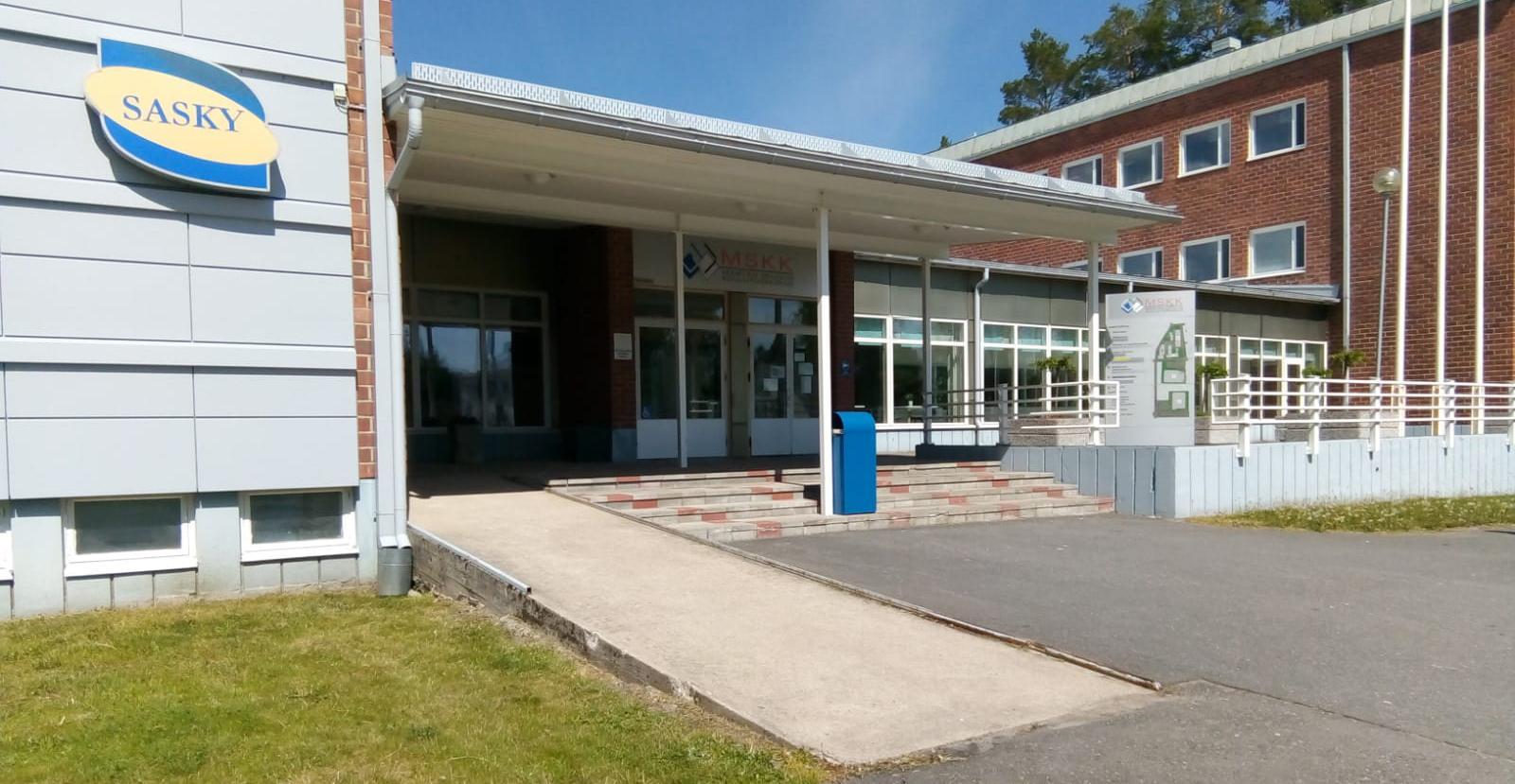 Mäntän seudun koulutuskeskuksen rakennuksia.