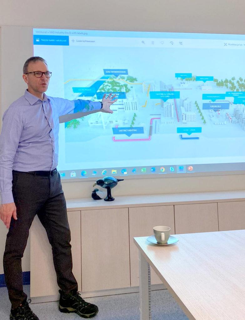Vexve Oyn toimitusjohtaja Jussi Vanhanen.
