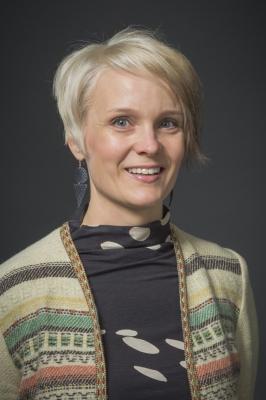 Merja Suoperä henkilökuva.