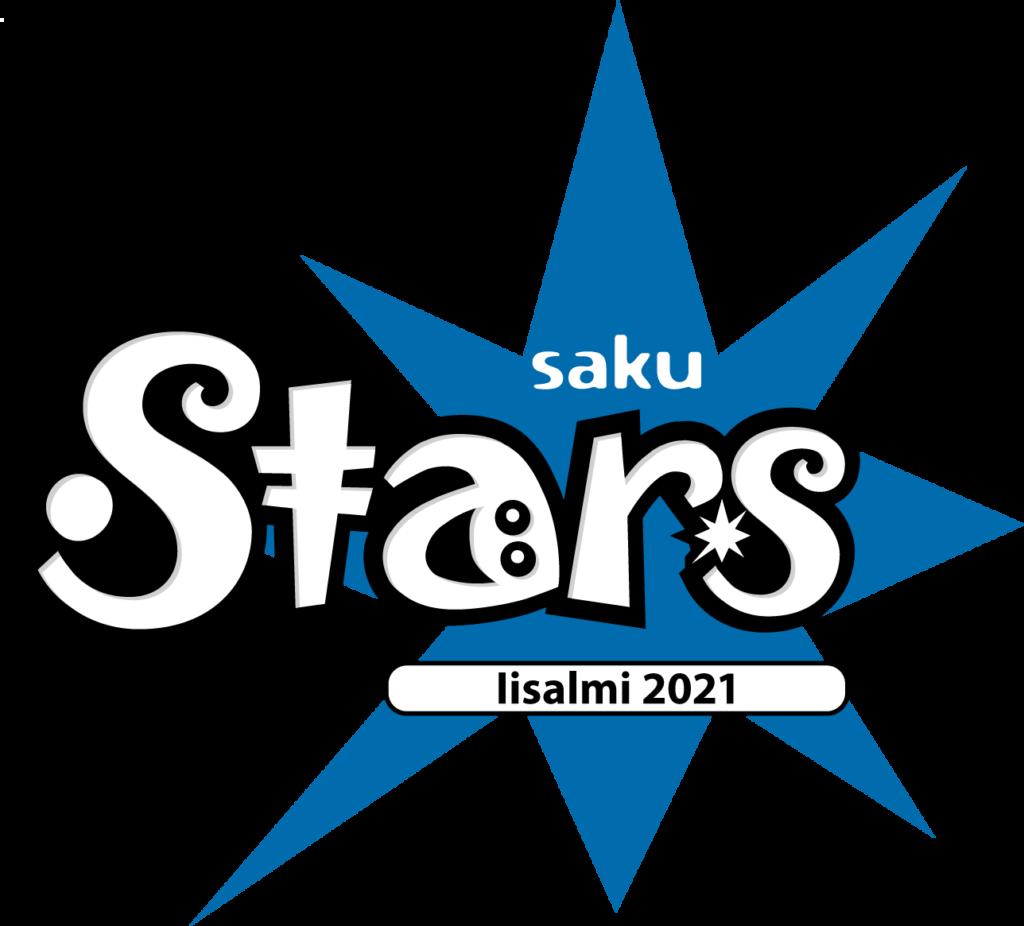 SAKUstars 2021 logo.